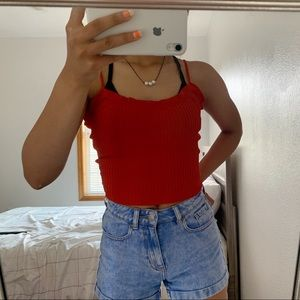 Red top from tillys